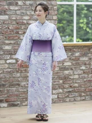 Te chichi (テチチ)通販 | 紫陽花古典柄浴衣